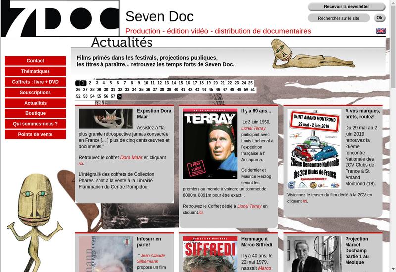 Capture d'écran du site de Les Editions Publialp