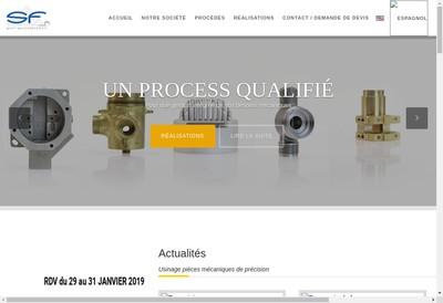 Site internet de Sf Precision