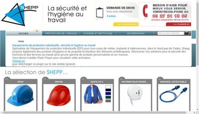 Site internet de Shepp