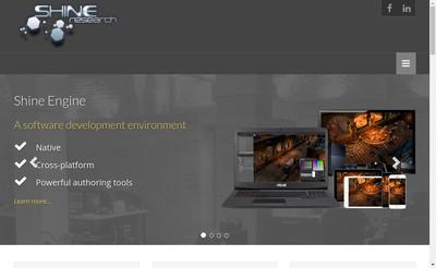 Site internet de Shine Research