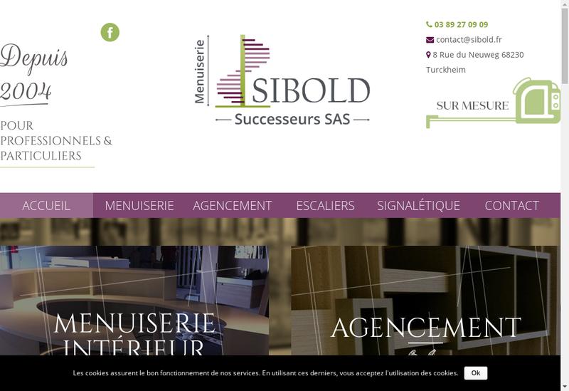 Capture d'écran du site de Sibold Successeurs SAS