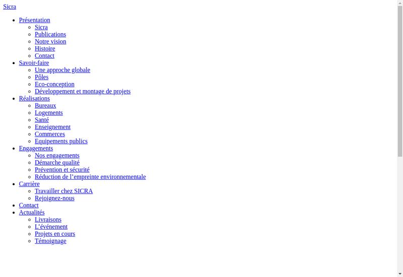 Capture d'écran du site de Vcf Of Rehabilites Idf