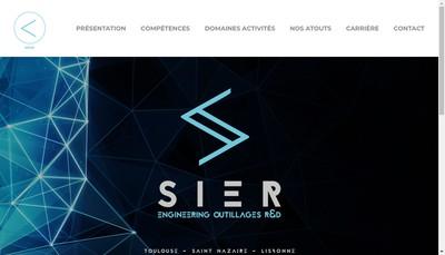 Site internet de Societe Industrielle Etudes Realisations