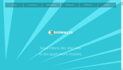 Site internet de Sigmalis