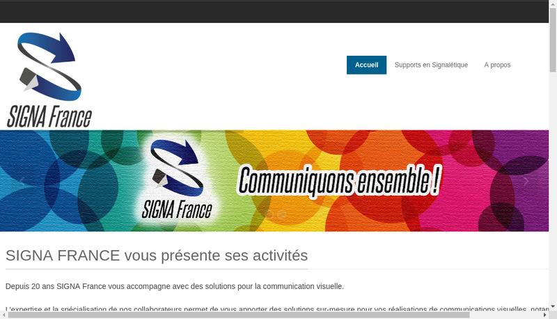 Capture d'écran du site de Texxalis