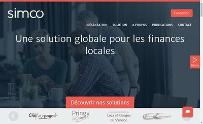 Site internet de Simco