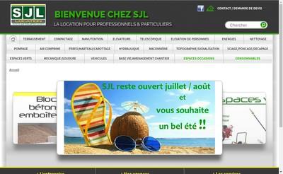 Site internet de Sjl
