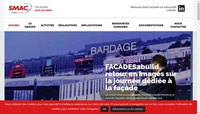 Site internet de Smac