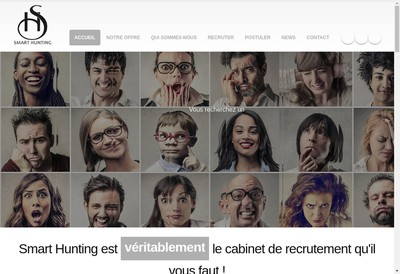 Site internet de Smart Hunting