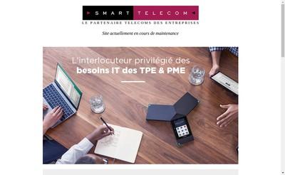 Site internet de Smart Telecom