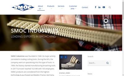 Site internet de Smoc Industries