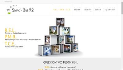 Site internet de Salini Habitat - Smrd-Bat 92