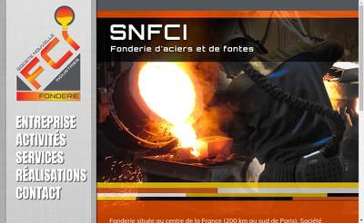 Site internet de Societe Nouvelle Fci Industries