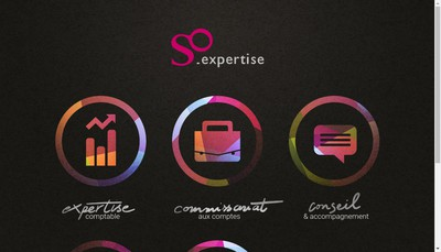 Site internet de So Expertise