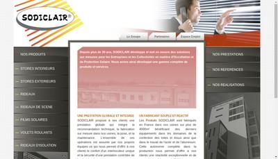 Site internet de Sodiclair