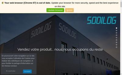 Site internet de Sodilog