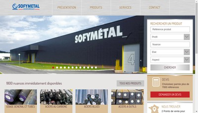 Site internet de Sofymetal SA