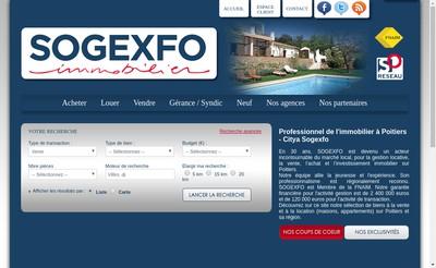 Site internet de Citya Sogexfo