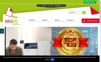 Site internet de Excellice