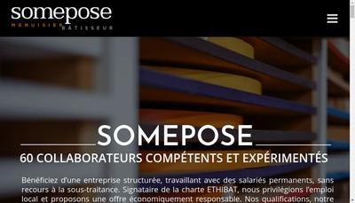 Site internet de Somepose