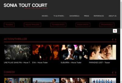 Site internet de Sonia Tout Court