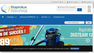 Site internet de Soprolux