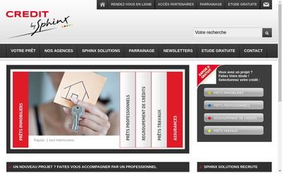 Site internet de Credit By Sphinx