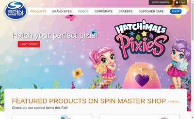 Site internet de Spin Master
