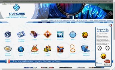 Site internet de Spiragaine