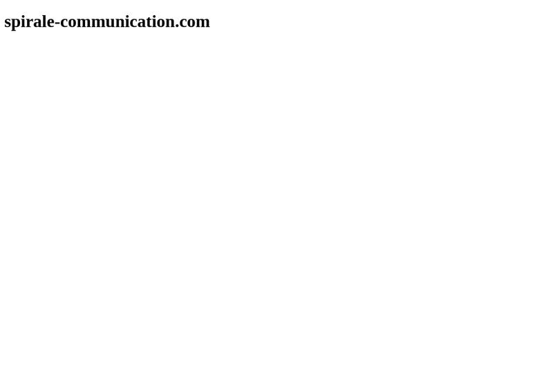 Capture d'écran du site de Acat Communication