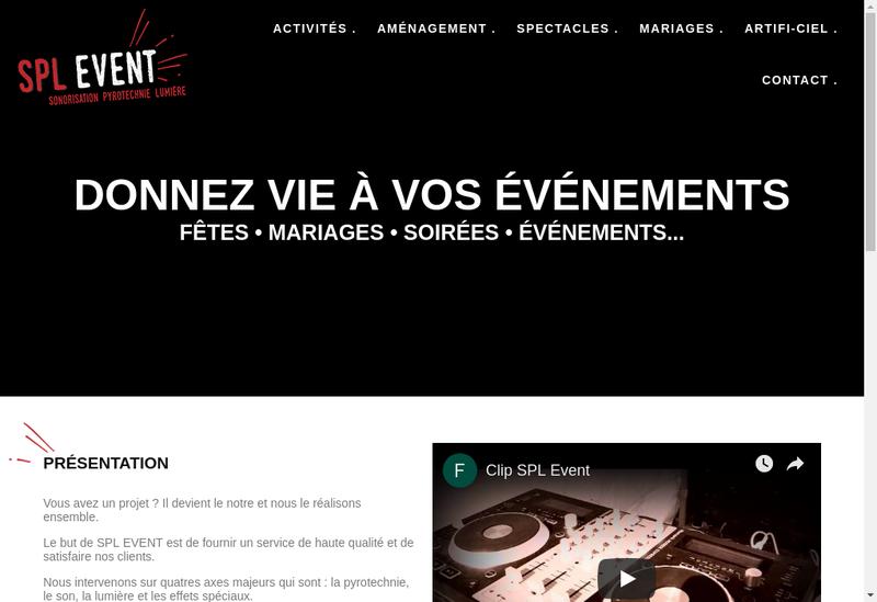 Capture d'écran du site de Artificiel