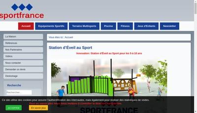 Site internet de Sport France