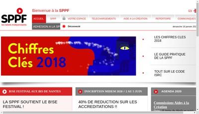 Site internet de SPPF