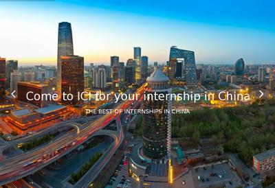 Capture d'écran du site de Ici Consulting