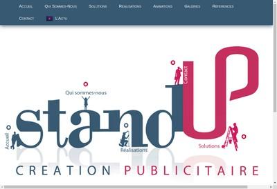 Site internet de Stand Up