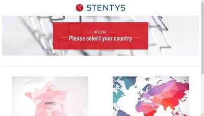 Site internet de Stentys