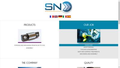 Site internet de Stevenin Nollevaux Forges et Estampage