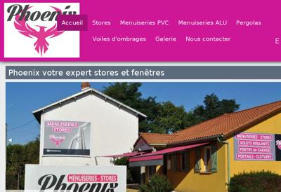 Capture d'écran du site de Process Stores et Fermetures
