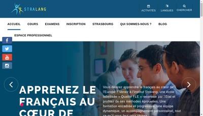 Site internet de Stralang