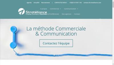 Site internet de Stratéliance