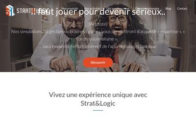Site internet de Strat & Logic