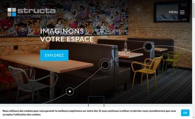 Site internet de Groupe Structa SAS