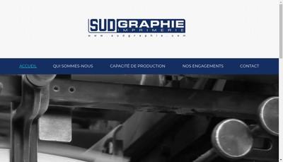 Site internet de Sud Graphie Rotative