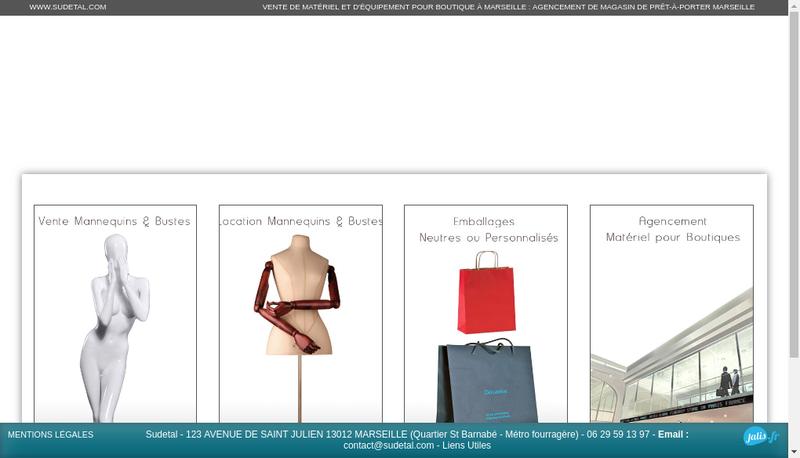 Capture d'écran du site de Sud Etal
