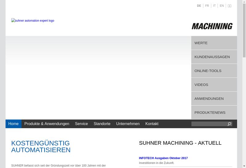Capture d'écran du site de Somex Mulhouse SA