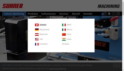 Site internet de Somex Mulhouse SA
