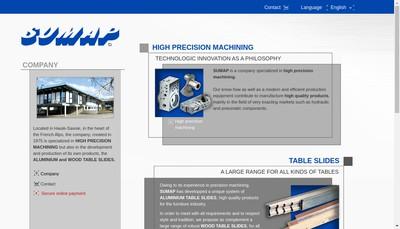 Site internet de Sumap