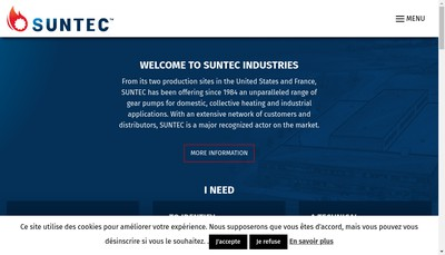 Site internet de Suntec Industries France