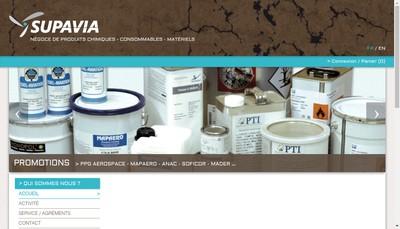 Site internet de Supavia
