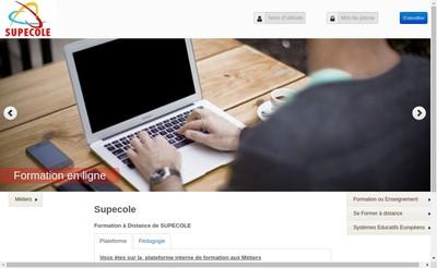 Site internet de Supecole